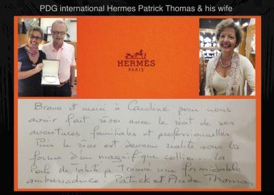 PDG Hermes Patrick Thomas
